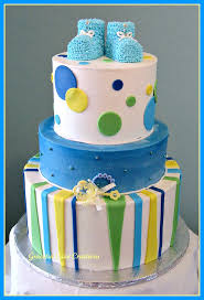 baby shower cakes for boy blue booties baby shower cake boys baby shower cake with b flickr