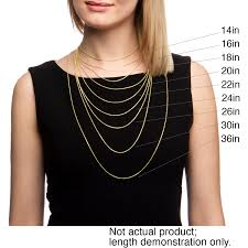 womens necklace chains images Fremada 14k yellow gold singapore chain necklace 14 30 inch jpg