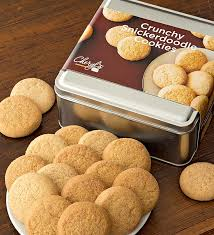 cookie gift cheryl s snickerdoodle cookie gift tins cheryls 133711