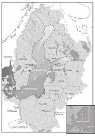 Baltic Sea Map Map Of Baltic Drainage Basin Source Stockholm Marine Figure