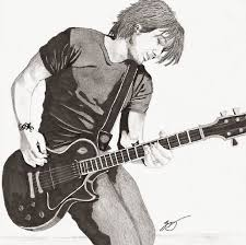keith urban and guitar emili k productions custom pencil