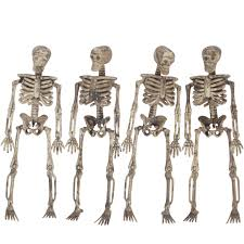 skeletons halloween decorations 5ft pose skeleton halloween decoration walmart com
