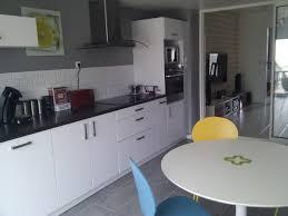 cuisine moderne gris et blanc bois massif prix cuisines grise