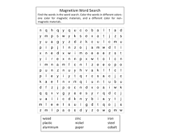 magnetism wordsearch by jennycogbill teaching resources tes