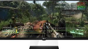 radeon r9 390 vs gtx 970 ultra wide 21 9 1080p 2560x1080