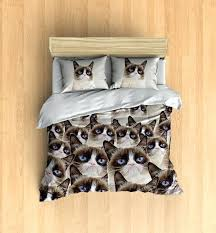 cat duvet set single cat paw print duvet cover cat duvet covers