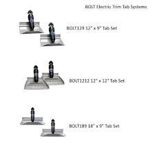 bennett bolt electric trim tab systems