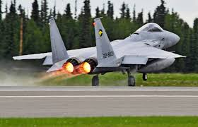 Alaska Flag Meaning File F 15j 931 Of 306 Sqn Takes Off From Eielson Air Force Base