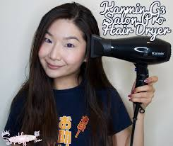 shaping long hair review karmin g3 salon pro hair dryer sparkly playground