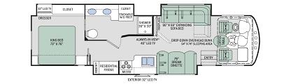 Motorhome Floor Plans 28 Class A Rv Floor Plans Luxury Rv Floor Plans Tuscany