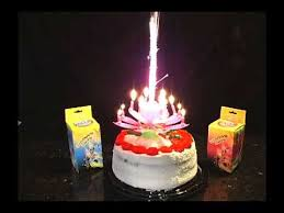 spinning birthday candle musical spinning birthday candle
