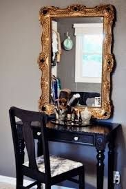 Thin Vanity Table Small Vanity Table For Bedroom Foter