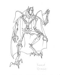 star wars coloring books star wars coloring pages general grievous hicoloringpages