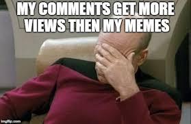 Meme Generator Star Trek - captain picard facepalm memes imgflip