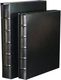 large photo albums classic regular black photo albums with white pages and slip cases
