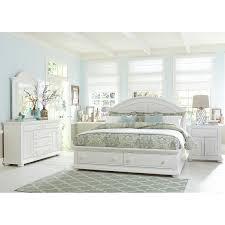 Storage Bedroom Set Liberty Furniture Summer House Storage Bed Hayneedle