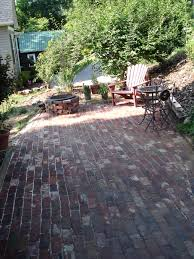 Patio Paver Jointing Sand by Antique Brick Patio U2026 Done