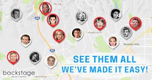 celebrity home addresses hollywood stars homes map find your fav celebs