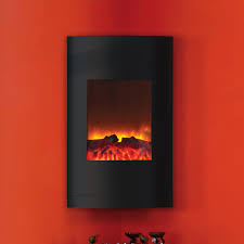 amantii 21 inch vertical convex wall mount electric fireplace wm