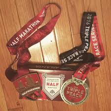 thanksgiving half medal and medal yelp