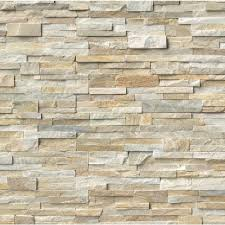 Stacked Stone Kitchen Backsplash Ms International Golden Honey Ledger Corner 6 In X 6 In X 6 In