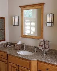 Mission Style Bathroom Lighting Craftsman Style Bathroom Lighting Home Interior