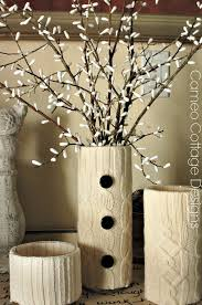 diy willow branches with q tips hometalk