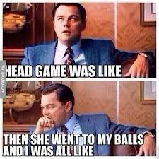 Meme Game - head game was like meme