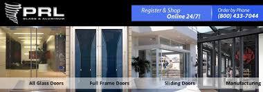 Door Styles Exterior Frameless All Glass Doors