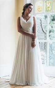 plus wedding casual plus figure wedding dress informal large size bridals