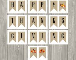 burlap thanksgiving banner happy thanksgiving banner etsy