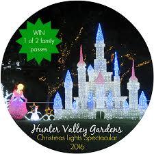 christmas lights spectacular 2016 hunter valley gardens all