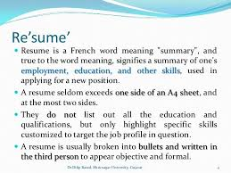 the word resume resume meaning nardellidesign