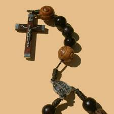 rosary crucifixes palm wood rosary clear creek