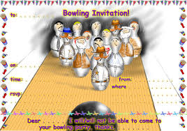 Birthday Invitation Card Template Free Download Birthday Invites Free Download Best 10 Bowling Birthday