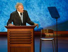 Clint Eastwood Chair Meme - clint eastwood at the 2012 republican national convention wikipedia