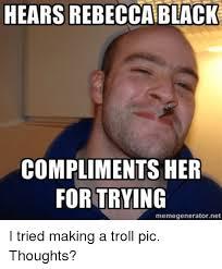Rebecca Black Meme Generator - 25 best memes about trolls pic trolls pic memes
