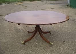 oval pedestal dining table antique furniture warehouse large antique oval table huge 6ft