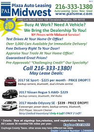 nissan rogue lease deals ny plaza auto leasing midwest u2013 3 amazing deals plus 3000 vehicles