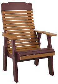 pine creek structures poly outdoor patio furniture contoured back