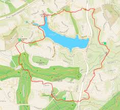 Blossom Music Center Map Trail Tour A Hilly Workout With Some Of Reston U0027s Best Scenery