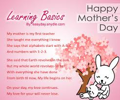 happy mothers day poems with images easyday