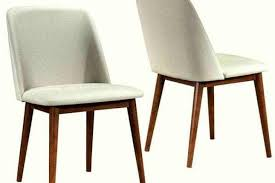 soho mid century modern upholstered dining chairs set of mid