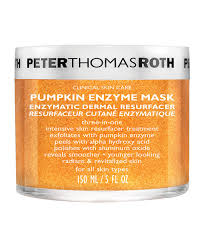 Pumpkin Enzyme Peel Before And After by Pumpkin Enzyme Mask By Peter Thomas Roth