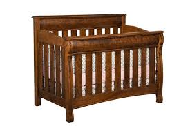 Crib And Toddler Bed Castlebury Convertible Crib And Toddler Bed From Dutchcrafters Amish