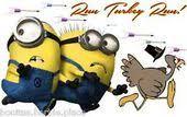minion turkey happy thanksgiving minion with turkey iron on