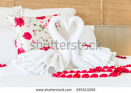 for honeymoon beautiful hotel honeymoon sweetswan put stock photo