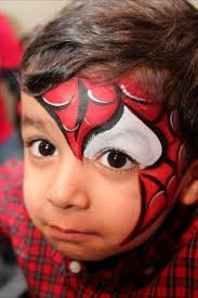 coloring pages outstanding spiderman face paint maxresdefault