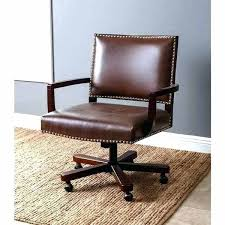 brown leather executive desk chair brown leather office chair staples mypic me