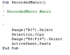 excel vba tutorial chapter 1 how to record a macro